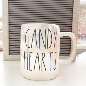 ✨ NWT Candy Hearts Iridescent Mug | Rae Dunn